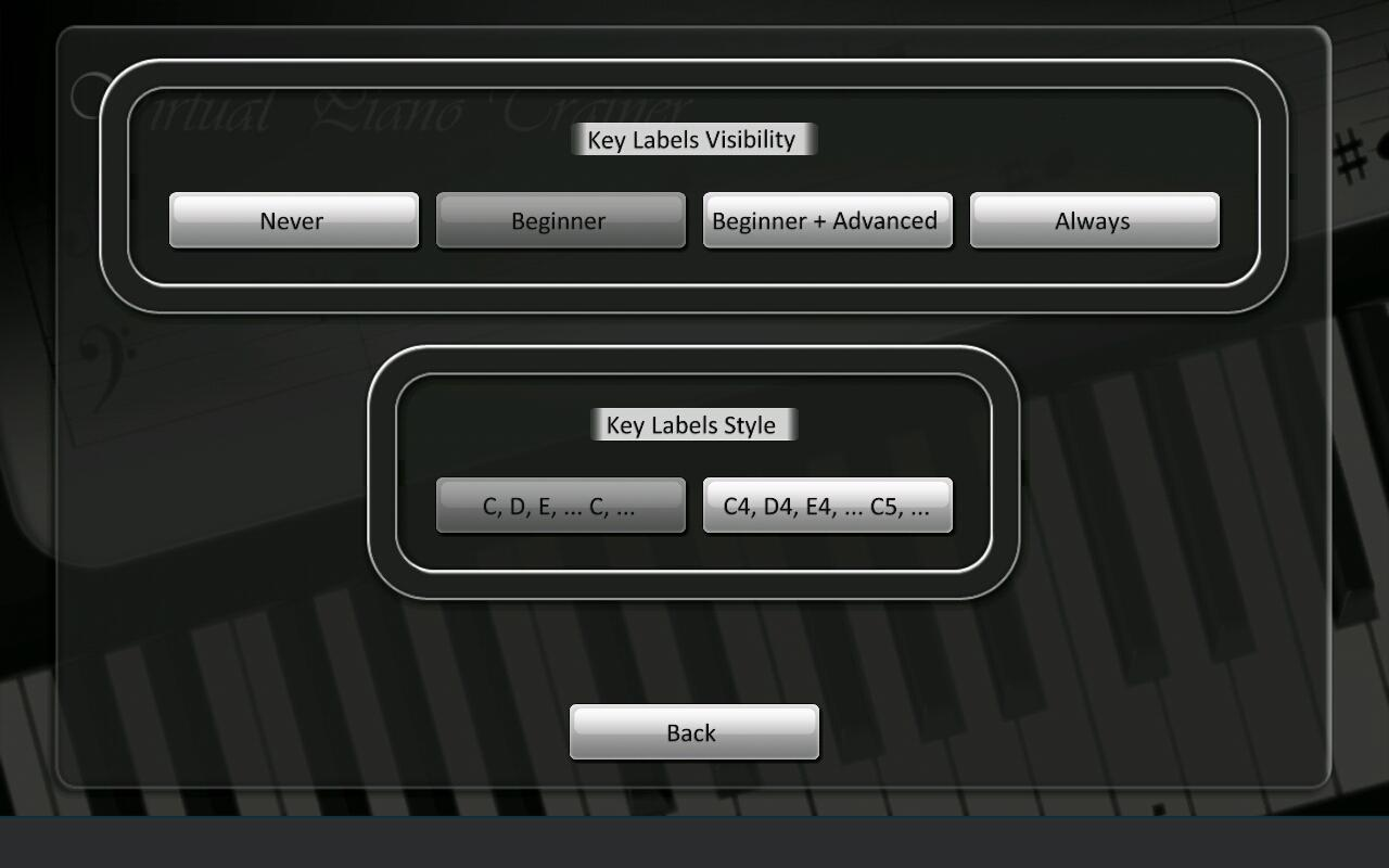 Virtual Piano Trainer- screenshot