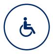 Accesso per ospiti disabili