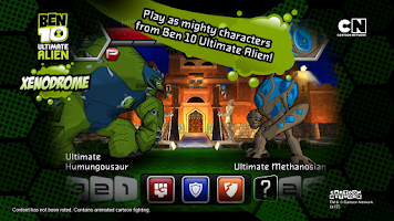 Screenshot of Ben 10 Xenodrome