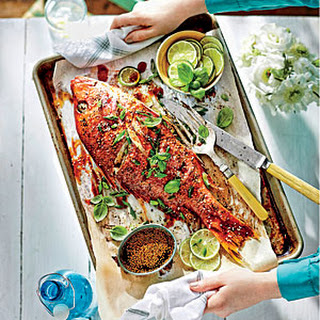 Roasted Whole Teriyaki Snapper Recipe