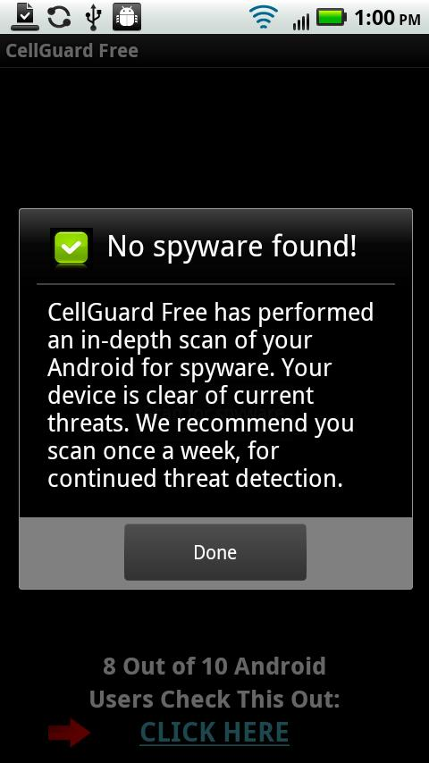 CellGuard Free Anti Spy - screenshot