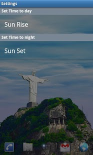 Rio Live Wallpaper - Corcovado- screenshot thumbnail