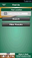 Screenshot of Fibre Federal Mobile Banking