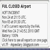 Air Traffic Control Status US