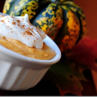 Pumpkin Pie Mousse.