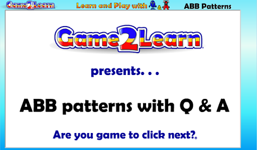 ABB Patterns with Q A