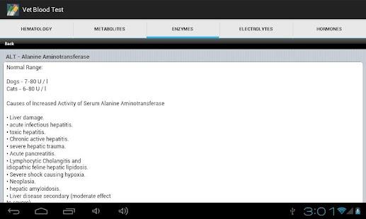Vet Blood Tests Guide- screenshot thumbnail