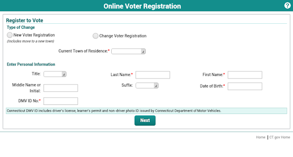 CT Voter Registration- screenshot thumbnail
