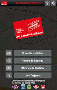 Crtm tarjeta tp android apps on google play for Oficinas del consorcio de transportes de madrid