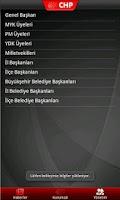 Screenshot of CHP Mobil