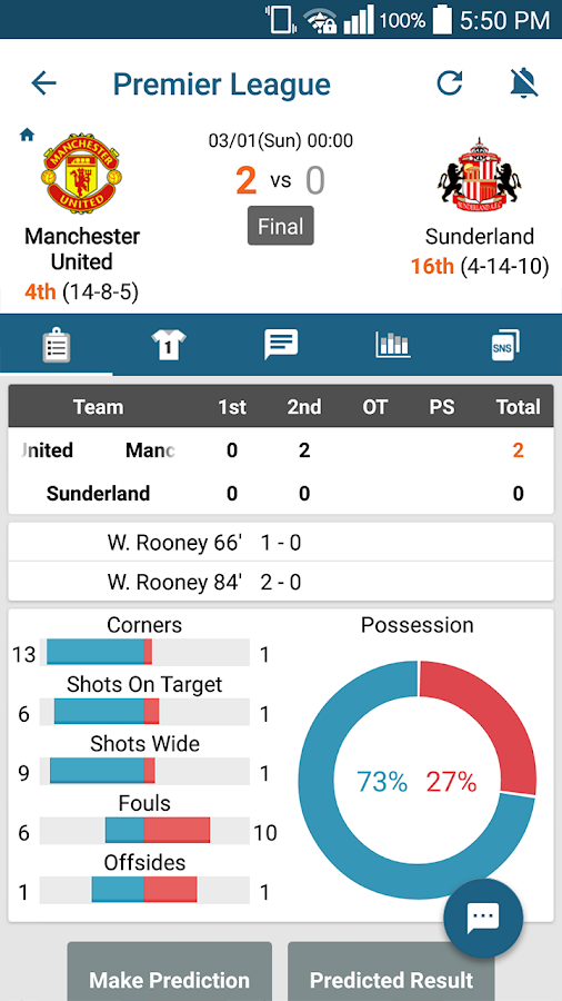 ScoreCenter: LIVE SCORE - screenshot