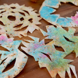 Sweet Tortilla Snowflakes