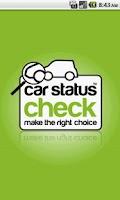 Screenshot of Car Status Check