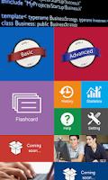 Screenshot of C Sharp # Test & Flashcard