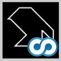Minimalist Tangram logo