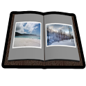 Photo Book 3D Live Wallpaper icon