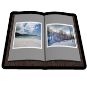 Photo Book 3D Live Wallpaper