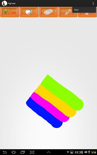 繪圖軟體MyPaint用I鍵畫水平直線教學- 【繪圖技研版】 - 創作革命†REVOLUTION