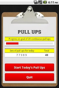 Pull Ups- screenshot thumbnail