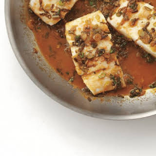 Braised Fish with Orange and Soy.