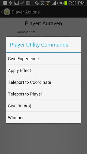 Admin Dashboard for Minecraft