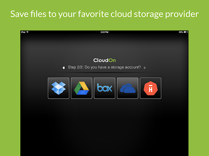 CloudOn (with MS Office Suite) - screenshot thumbnail