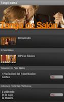 Screenshot of Tango-curso (it)