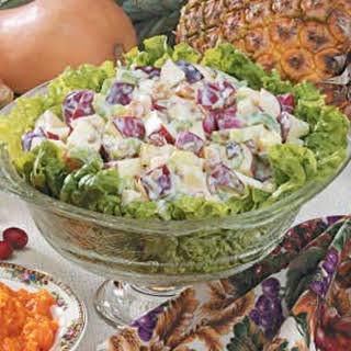 Pineapple Waldorf Salad.
