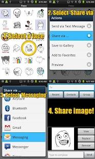 SMS Rage Faces Pro- screenshot thumbnail