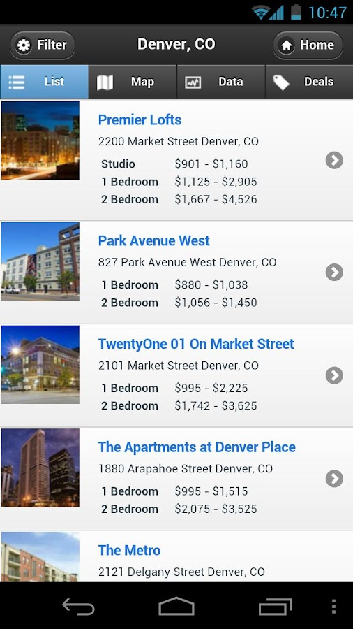 MyApartmentMap Apartments Tool- screenshot