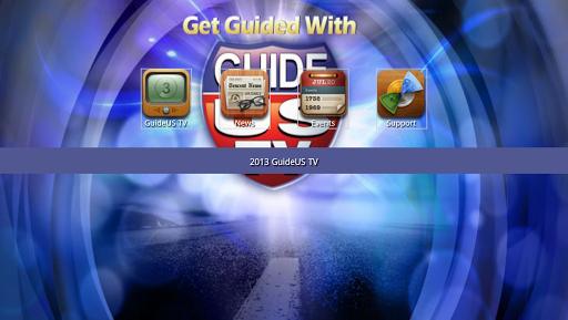 GuideUS TV for Google TV