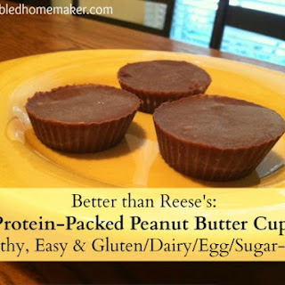 Protein-Packed Peanut Butter Cups.