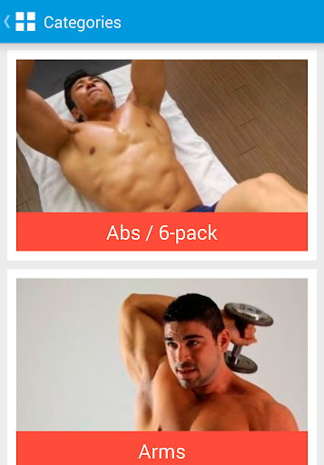 Exercise Workout for men