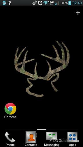 Buck Rack Camo Live Wallpaper