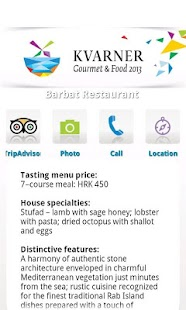 Kvarner Gourmet & Food- screenshot thumbnail