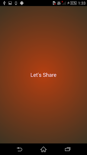 Let's Share