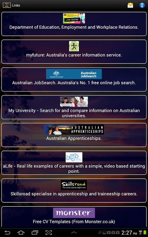 Your Career - Australia- screenshot