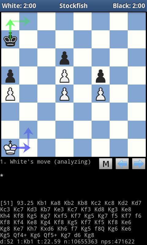 DroidFish Chess - screenshot