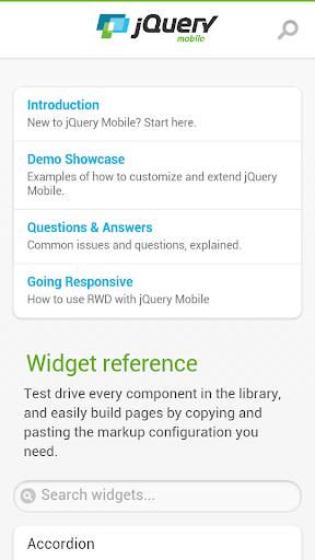 jQuery Mobile 1.3.2 API Docs