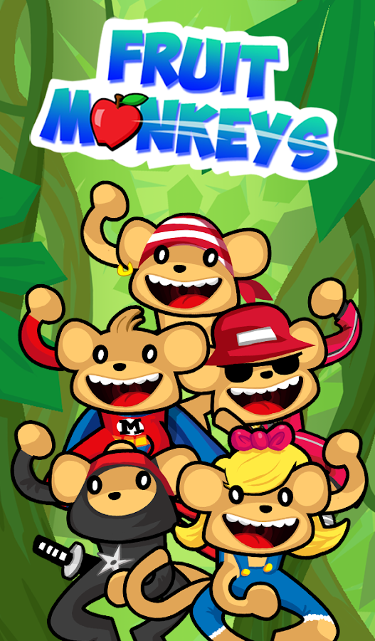 Fruit Monkeys Free- screenshot