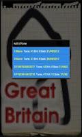 Screenshot of PapeRace