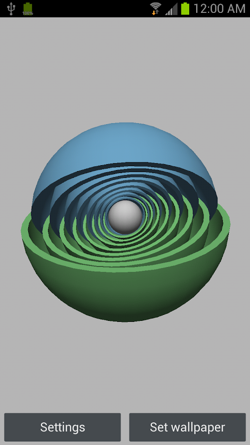 3D Super Sphere Free- screenshot