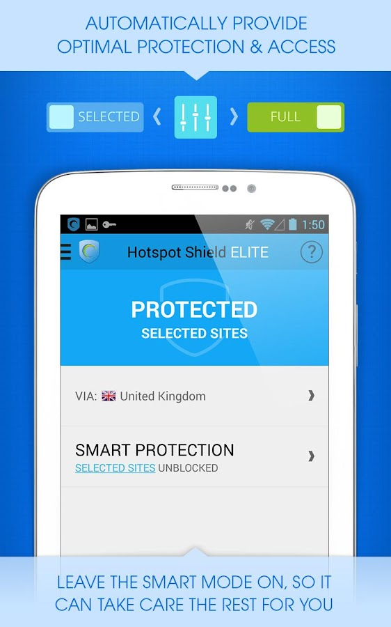 Hotspot Shield Free VPN Proxy- screenshot
