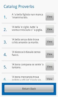 Neapolitan Proverbs- screenshot thumbnail