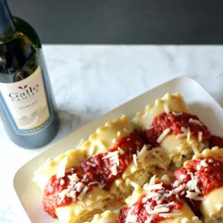 Lasagna Rolls for #SundaySupper