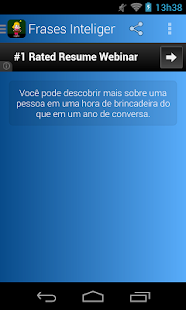 Frases Inteligentes Português - screenshot thumbnail