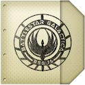 ADW Theme BSG Notebook logo