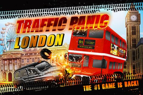 Traffic Panic London - screenshot