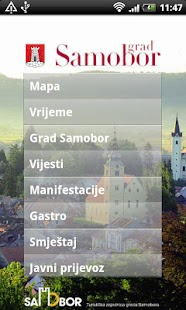 Samobor info - screenshot thumbnail