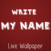 Write My Name Live Wallpaper